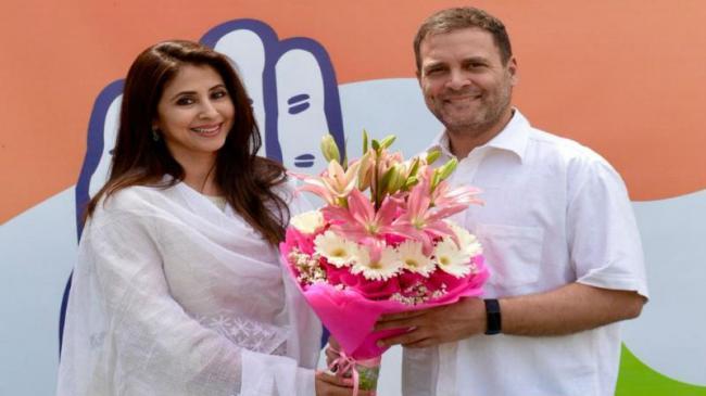 Bollywood Actor Urmila Matondkar Joins Congress - Sakshi
