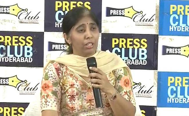 ys vivekananda reddy daughter Straight Questions To Chandrababu - Sakshi