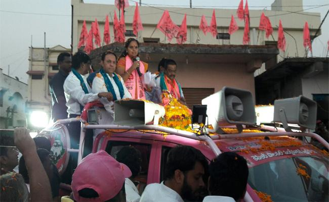 Kavitha Said Focused on People's Problems In Nizamabad To Delhi - Sakshi