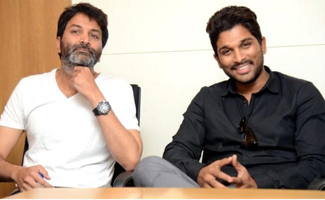 Allu Arjun And Trivikram Srinivas Movie Updates Soon - Sakshi
