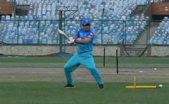 IPL 2019 Ganguly Cuts And Drives During Delhi Capitals Practice Session - Sakshi