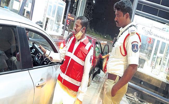 Drunk And Drive Tests in ORR Hyderabad - Sakshi