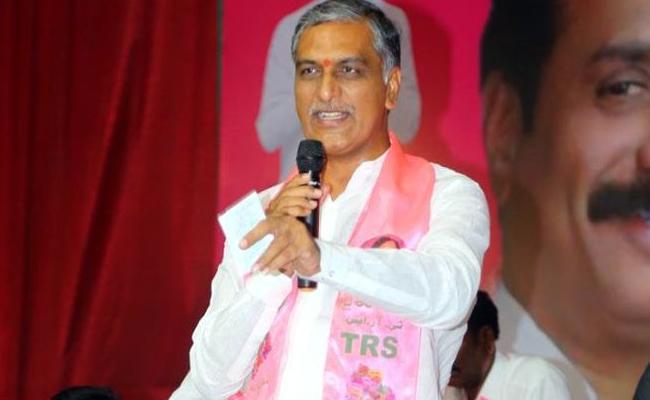 Congress President Rahul Gandhi Shold Say Sorry To Poor People Said By TRS MLA Harish Rao - Sakshi
