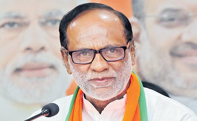 With state level elements Telangana BJP created the Manifesto - Sakshi