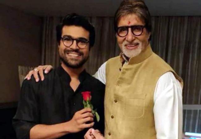 Amitabh Bachchan Wishes to Ram Charan - Sakshi