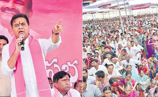 16 TRS MPs efficient than Congress and BJP put together - Sakshi