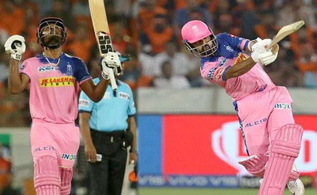 Samson Smashes Century after Rahane 70  Runs - Sakshi