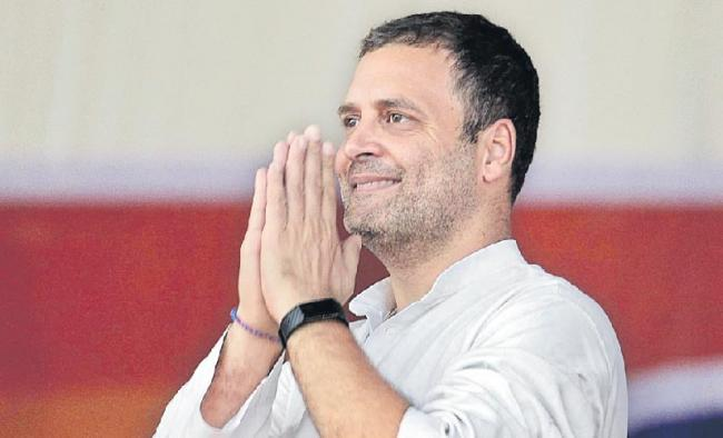 Rahul Gandhi promises three-year exemption for start-ups from regulatory permissions - Sakshi
