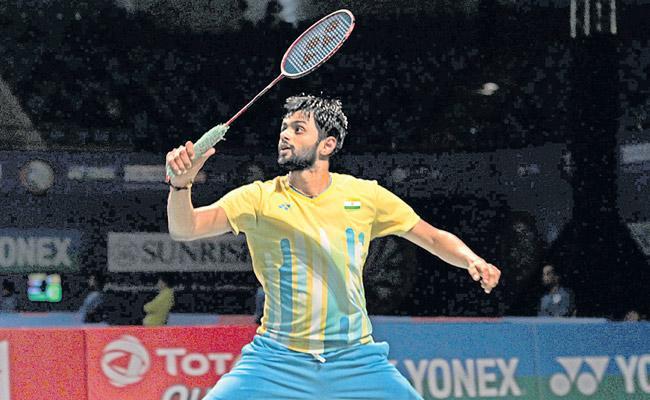 Sai Praneeth Kashyap enter quarterfinals - Sakshi