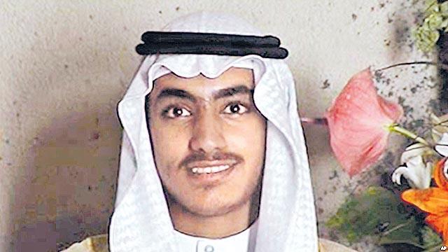 UN Blacklists Osama bin Laden's Son Hamza - Sakshi
