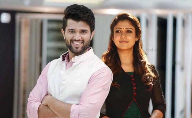 Vijay Devarakonda To Romance Lady Superstar Nayanthara - Sakshi