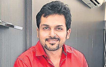 Karthi's Next Titled Khaidi - Sakshi