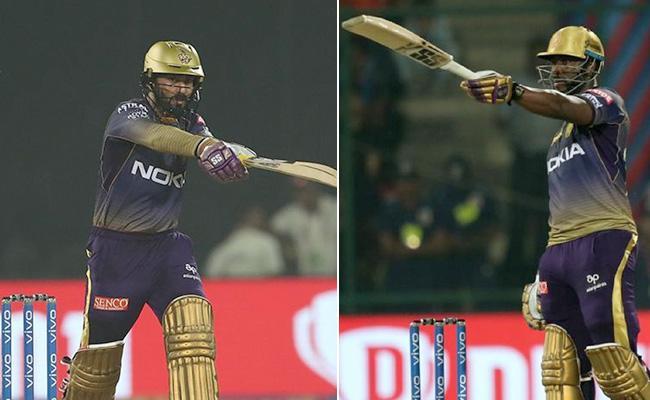 Russell and Karthik fightback takes KKR to 185 - Sakshi