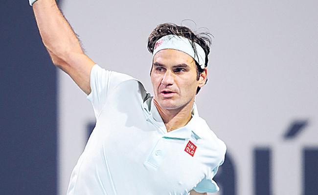Roger Federer Booted Up The Wii Tennis - Sakshi
