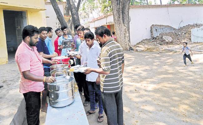 TDP Leaders Code Violations in Srikakulam - Sakshi