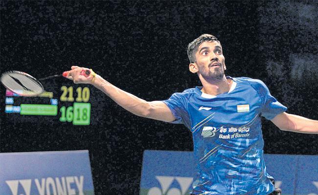 Kidambi Srikanth enters first final since 2017 - Sakshi