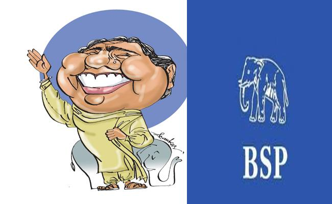 Mayawati  Magic strategy, Great Tantra In Lok Sabha Elections - Sakshi