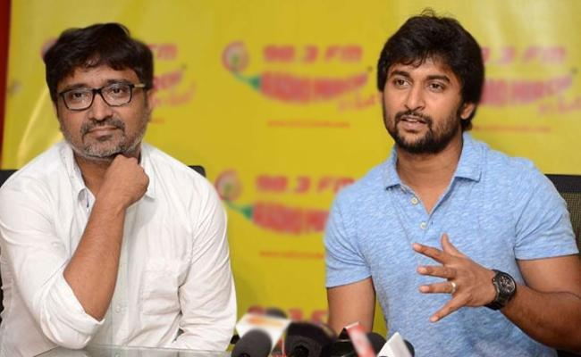 Nani And Indraganti Mohana Krishna Movie Title Vyuham - Sakshi