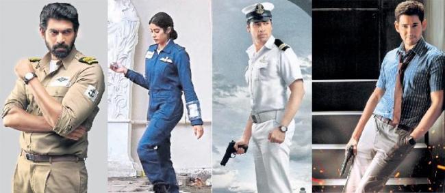 cinema Heroine has a Soldiers - Sakshi