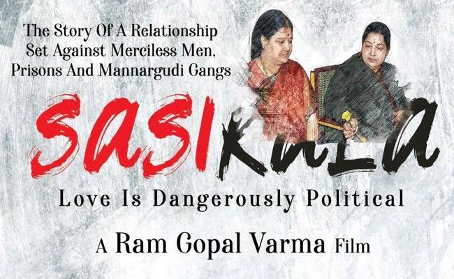 RGV Announced Sasikala Biopic Movie - Sakshi