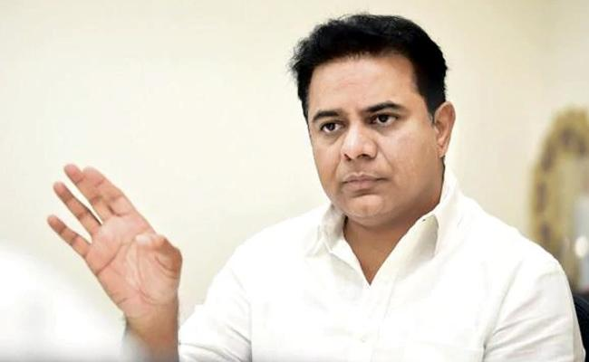 KTR Fires On Uttam Kumar Reddy - Sakshi