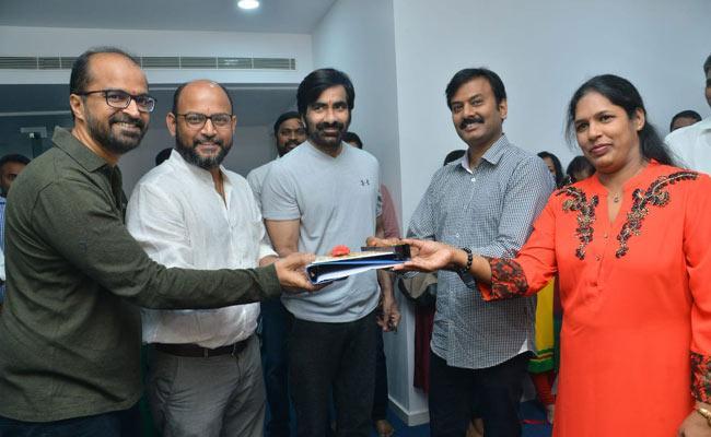 Ravi Teja Disco Raja Movie Shooting Started On 4th March - Sakshi