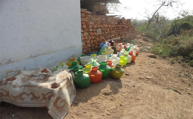 Water Problem In Villages - Sakshi