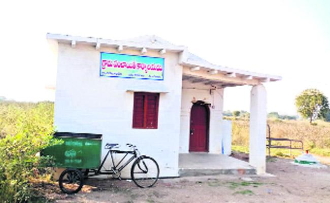 When Complete Buildings  For panchayat Constructed By Government - Sakshi