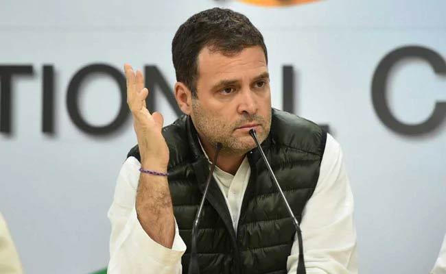 Rahul Meeti Delhi leaders For Tie Up With AAP - Sakshi