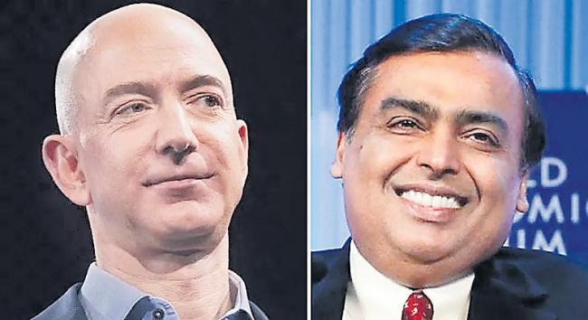 Mukesh Ambani is 13th richest in world - Sakshi
