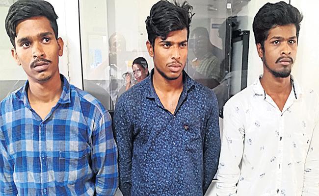 Five Members Arrest in Robbery Case - Sakshi