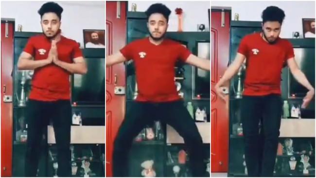 Viral Video Man Break Dances to Iconic Doordarshan Tune in Tik Tok - Sakshi