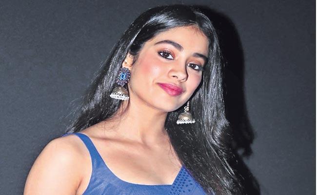 Janhvi Kapoor first look as combat pilot Gunjan Saxena in her upcoming film - Sakshi