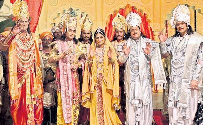 The Ramayana Mahabharata is two marvels - Sakshi
