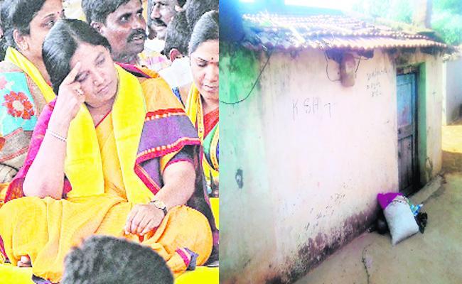 Paritala Sunitha Neglect on Anganwadi Centres - Sakshi