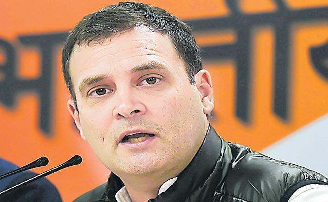 Rahul Gandhi will come to Telangana state on 9th this month - Sakshi