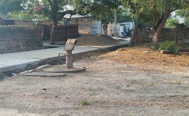 water problems in kondapi - Sakshi