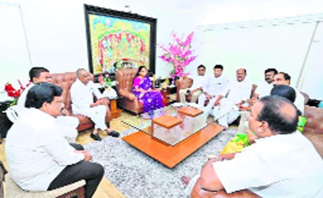 Parliamentary Election Meeting In Nizamabad - Sakshi