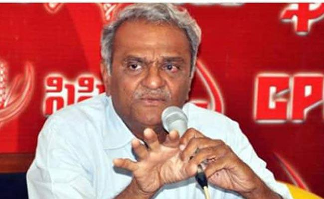 CPI National Secretary Narayana Comments On IT Grids Scam - Sakshi