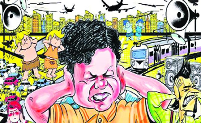 Sound Pollution During Exams Time - Sakshi