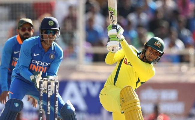 Australia stitch record with Highest Score in Ranchi - Sakshi