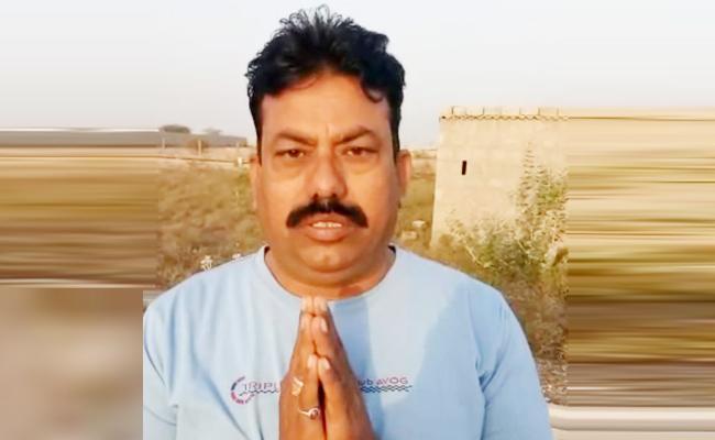 APSP Head Constable Video Viral in Anantapur Police Department - Sakshi