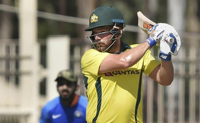 Aaron Finch First 50 Plus score in ten innings - Sakshi