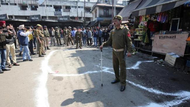 Jammu Bus Stand Blast  Accused Was Paid By Hizbul - Sakshi