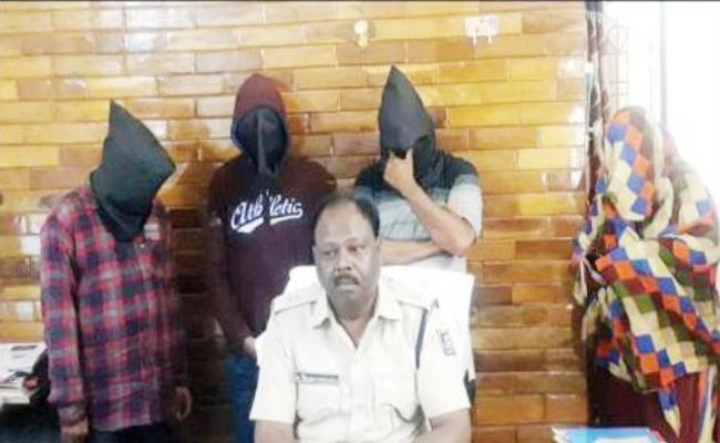 Prostitution Scandal Reveaols Oroissa Police - Sakshi