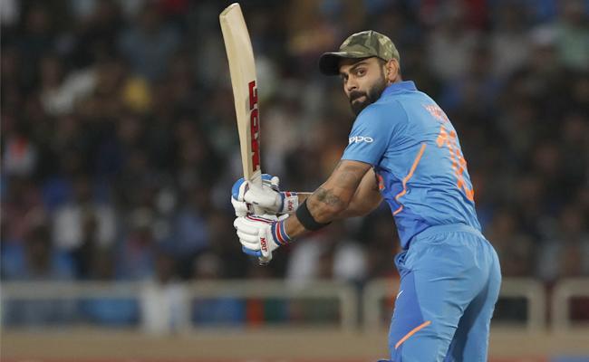 Virat Kohli fastest to 4000 ODI runs as captain - Sakshi