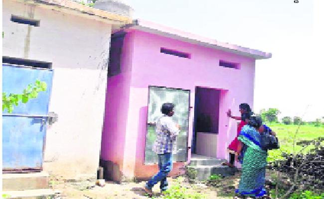 Cleanliness Washrooms In Govt Schools - Sakshi