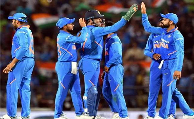 India faced Same overs in each of 1st three ODIs against Australia - Sakshi
