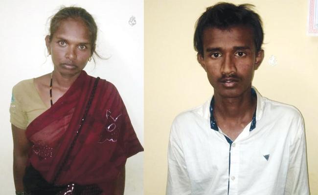 Wife And Lover Arrest in Husband Murder Case Karnataka - Sakshi
