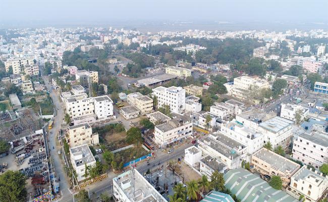 SUDA Devolopment Works Delayed in Srikakulam - Sakshi